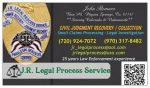 J.R. Field Inspections & Legal Process Service